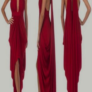 Catrina Red Dress Hire or Rent in UK - musthavedresses.com