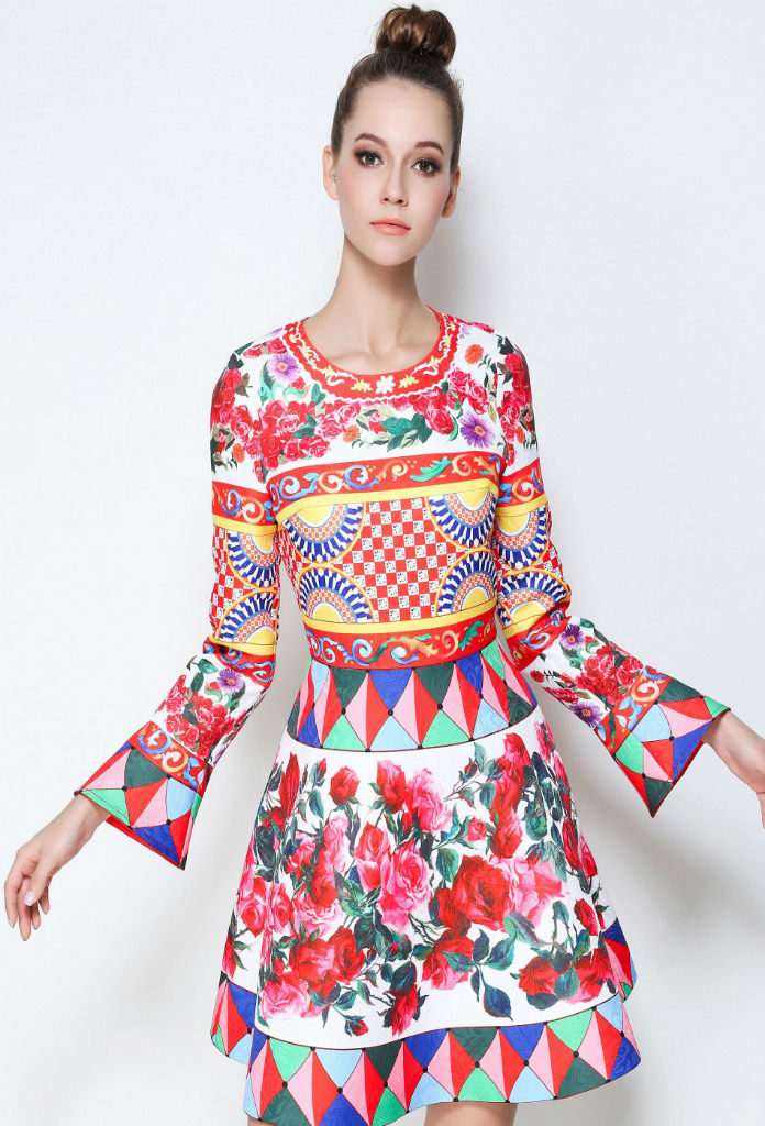 Hire Colourful Pop Dresses in UK at £45.00 - musthavedresses.com