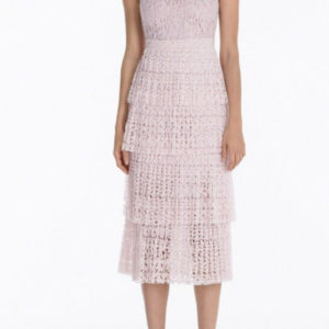 Gigi Pink Midi Dress hire in UK, Scotland, Aberdeen at musthavedresses.com