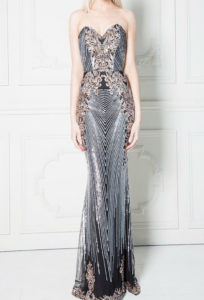Sweetheart Neckline Sequin Embroidered Maxi Dress in UK at musthavedresses.com